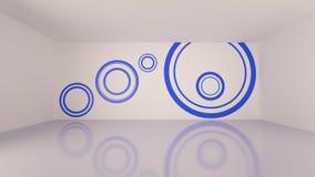 Стена ванной комнаты Стоковая Фотография