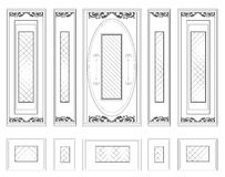Стена вектора обрамляет орнаментированный штоф wainscoting декоративный Стоковое Изображение RF