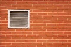 стена вентилятора кирпича Стоковые Фотографии RF