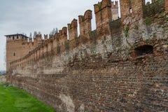 Стена Вероны старая Стоковое Фото