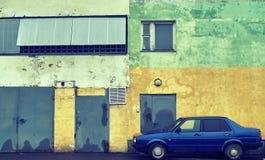 Стена винтажного автомобиля готовя затрапезного дома Стоковые Фотографии RF