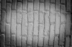 Стена виньетки белая от кирпича Стоковое Изображение RF