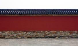Стена вокруг комплекса в Китае Стоковое Изображение RF