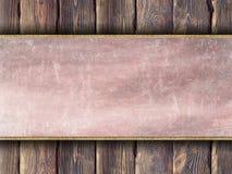 Стена двухслойной предпосылки - деревянная и поцарапанная Стоковое фото RF
