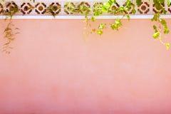 Стена в стиле испанского языка в городе Стоковые Изображения RF