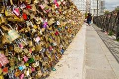 Стена влюбленности Стоковые Фото