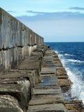 стена гавани grunge Стоковые Изображения RF
