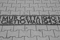 стена гетто Стоковое Изображение RF