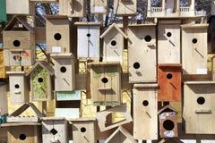 стена гнездя коробок Стоковая Фотография RF