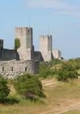 стена города Стоковое Изображение