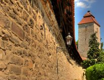 стена города Стоковые Фото