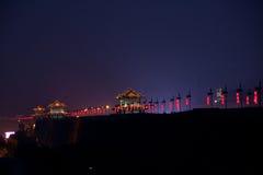 Стена города в Китае Стоковые Фото