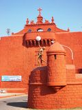 Стена города в Diu/Индии Стоковая Фотография RF