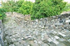Стена города Нанкина Ming Стоковое Изображение RF