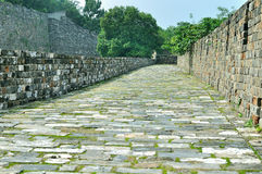 Стена города Нанкина Ming Стоковое фото RF