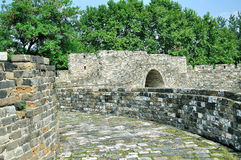 Стена города Нанкина Ming Стоковые Изображения RF