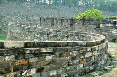 Стена города Нанкина Ming Стоковые Фото