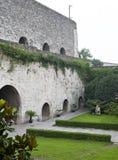 Стена города Ming строба Нанкина Zhonghua Стоковое Изображение RF
