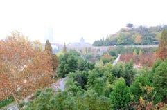 Стена города Ming Стоковые Фото