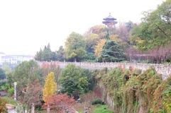 Стена города Ming Стоковое фото RF