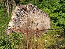 Стена городища fotress Brasov Стоковые Изображения RF
