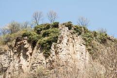 стена горы утесистая Стоковые Фото