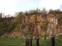 Стена горы стоковая фотография