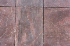Стена гранита выровнянная с Стоковая Фотография