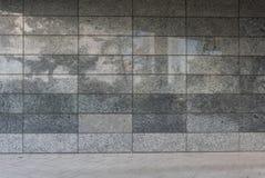 Стена гранита современного здания Стоковые Фотографии RF