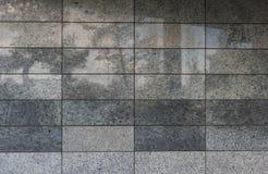 Стена гранита современного здания Стоковое Изображение RF