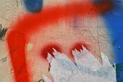 Стена граффити Стоковое Изображение RF