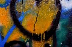 Стена граффити Стоковые Изображения
