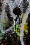 Стена граффити Стоковое фото RF