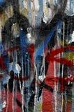 Стена граффити Стоковая Фотография