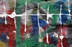 Стена граффити Стоковые Фото