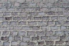 Стена грубых каменных кирпичей Стоковая Фотография