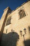 Стена дворца каменная Стоковая Фотография