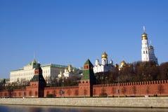 стена дворца kremlin Стоковые Изображения RF