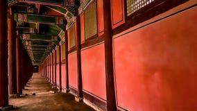 Стена дворца Kyeongbokgung Стоковые Изображения RF