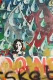 Стена Джон Леннон стоковая фотография rf