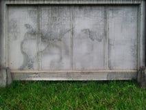 Стена для рекламы стоковое фото