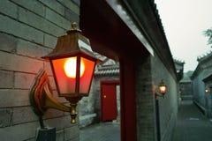 стена дороги светильников Стоковая Фотография RF