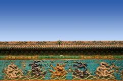 стена дракона Стоковая Фотография