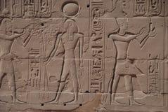 стена Египета Стоковые Фото