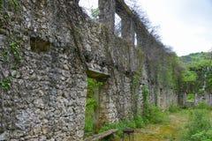 Стена загубленный builging Стоковая Фотография