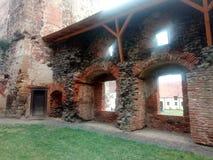 Стена замка Стоковые Изображения