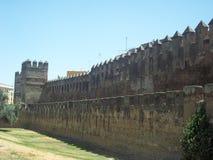 Стена замка Стоковое Фото