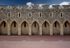 стена замока Стоковая Фотография RF