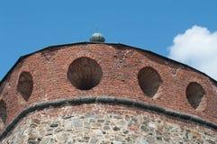 стена замока Стоковые Изображения