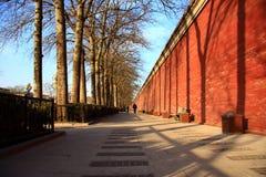 стена запрещенная городом стоковое фото